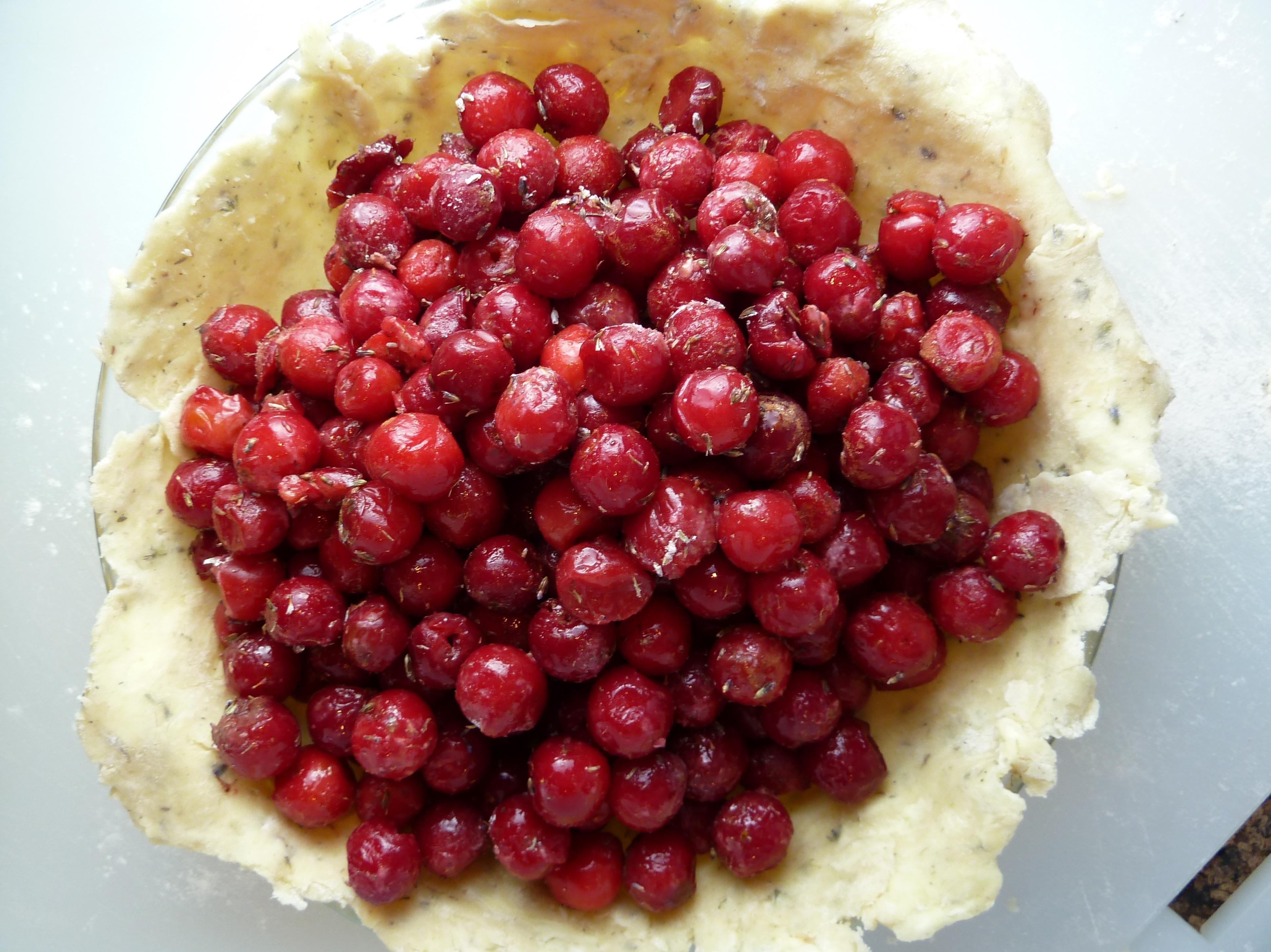 cherry pie and garbanzos 028